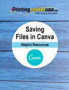 Saving Print-Ready Files in Canva